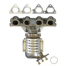 Exhaust Manifold with Integrated Catalytic Converter-Direct Fit Front 840301