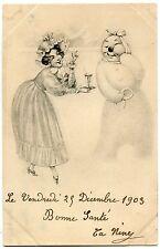 NOËL. BONNE ANNéE. BONHOMME DE NEIGE. SNOWMAN. FEMME. WOMAN. CHRISTMAS. NEW YEAR