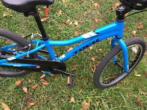 """Trek 20"""" NEW BIKE. Single Speed Coaster Brake Kids Bike Blue , Demo bike"""