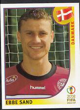 Panini Football - World Cup 2002 - Sticker No 96 - Denmark - Ebbe Sand