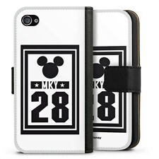 Apple iPhone 4 bolso funda flip case-mky