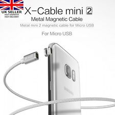 WSKEN 2m X-cable Metal Magnetic Removable Charger USB Cable Mini 2 for Micro USB