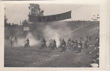 Motorrad Rennfahrer Rennen Bergring Teterow