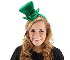 Mini Top Hat Headband Green St Patricks Day Mad Hatter eLope