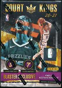 2020/21 Panini Court Kings INTERNATIONAL BLASTER SEALED BLASTER BOX