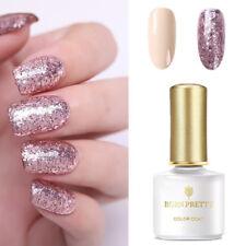 BORN PRETTY 2 Bottles 6ML UV Gel Nail Polish Rose Gold  Soak Off Gel Nails