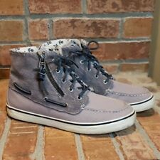 Women's Sperry Wilma Gray Boots, Size 8.5