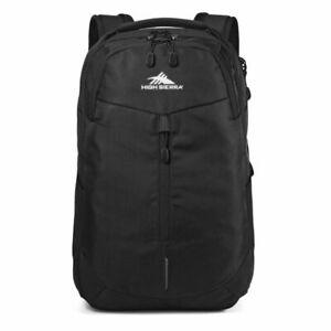 """High Sierra Swerve Pro 18"""" Backpack, Black"""