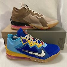 Nike Lebron 18 Space Jam Bugs Bunny Shoes CV7562 Smoke Black Sunset Sz 15