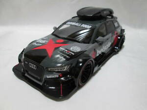 Kyosho 1/18 Audi Rs6 C7 DTM Schwarz