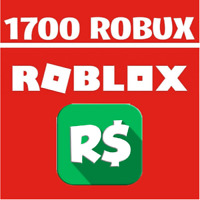 💰Roblox 1700RS Robux (No code)💰
