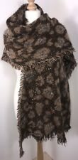 Blanket Scarf Wrap Pashmina Sequins Leopard Print Fluffy Soft Warm Oversized NEW
