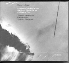 2 CD Heinz Holliger `Lauds and Lamentations` Neu/New/OVP Oboe - Zehetmair - ECM