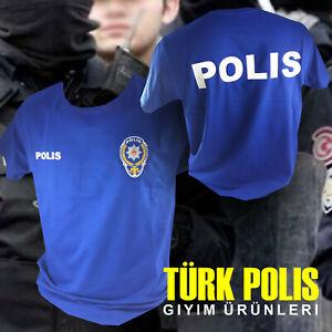 Türk Polis T-Shirt I S-2XL Türk Asker Patch Türkiye Türkei Shirt Bozkurt Göktürk