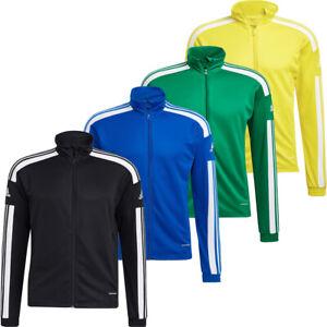 Mens Adidas Tracksuit Training Jacket Squadra 21 Full Zip Sports Running Tops