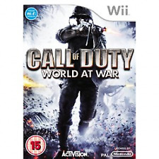 Call of Duty World at War /wii - Game 5ivg The Cheap Fast Post