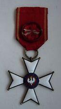 POLISH POLAND WWII ORDER OF POLONIA RESTITUTA 1918, IV CLASS original