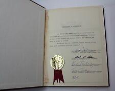 JUSTUS  * 1977 Unfilmed Movie Script based on the book, Signed by Ben Hur writer