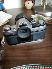 Vintage Canon AE-1 Program With Lens And Books Lot