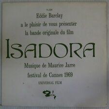Isadora 45 tours  Maurice Jarre 1969