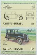 1932 HILLMAN MINX Car Stamps (Leaders of the World / Auto 100)