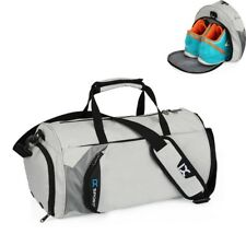 Gym Bags Sports Travel Shoes Pocket Workout Duffle Waterproof Basketball Fitness