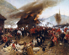 The Defence Of Rorkes Drift Alphonse De Neuvill    24'  CANVAS