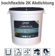 Turbotec 2K Abdichtung - Kellerabdichtung, Terrassenabdichtung, Balkonabdichtung