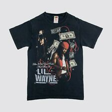 Vintage 2008 Lil Wayne Rap Tee Shirt Cash Money Weezy Small T Pain Hip Hop