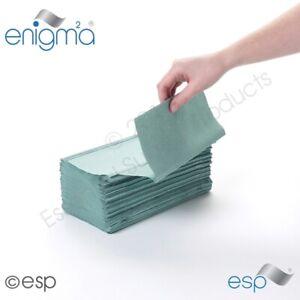Paper Hand Towels, Better than C Fold, Interfold Green Bulk Job Lot Low Cost