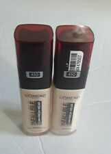 (2) L'Oreal Infallible Up To 24H Fresh Wear Foundation #410 Ivory 1oz Sunscreen