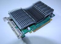 PCI-E Geforce 8600GT Passiv Grafikkarte 256MB GDDR3 2xDVI PCI-Express Nvidia