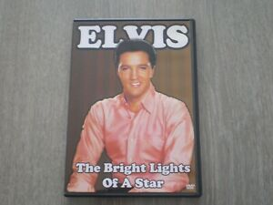 Elvis Presley DVD Elvis the Bright Lights of a Star LABEL STAR MEGA RARE