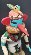 "VINTAGE Authentic Hopi Kachina Doll SKIRT MAN (Ota-kwasa-Itaq) Deloria Adams 9"""