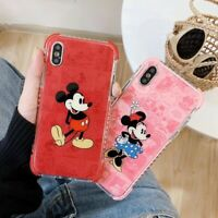 Cute Disney Mickey Minnie Armor Case For iPhone XS Max X XR 8 7 Shockproof Cover