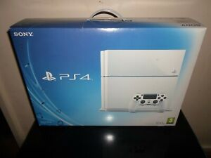 Sony PlayStation 4 - Glacier White With Controller - 500GB  - CUH-1116A - PS4