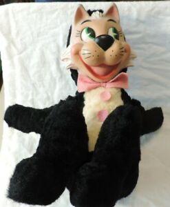 1950's Vintage Knickerbocker Huckleberry Hound Mr Jinx Stuffed Toy with Box