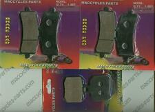 Ducati Disc Brake Pads 1098/1098R/1098S 2007-2009 Front & Rear (3 sets)