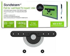 "SANDSTROM SFSEZ17 Fixed TV Bracket Mount 23"" - 55"" - To VESA 400 x 400 - 40KGS"