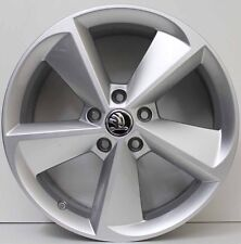 18 inch GENUINE SKODA OCTAVIA 2012 MODEL ALLOY WHEELS