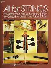KJOS 80sb 80SB - All For Strings Book 3: String Bass