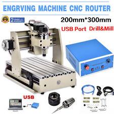 USB 3 Achse 3020T CNC Router Engraver Graviermaschine Fräsmaschine Fräse Cutter