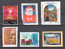 ITALIA 2012 - 6 francobolli - USATI