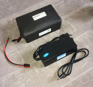 36V 13.2Ah Li-Ion Battery Pack w/ BMS + 3.0A Charger for ebike Electric Bicycle!