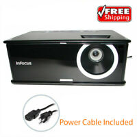 InFocus IN2112 DLP Projector - 3000 ANSI HD 1080i, Power Cable Included