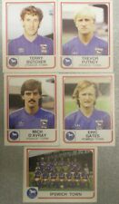 IPSWICH TOWN PANINI'S FOOTBALL 84 STICKERS x 5, FIGURINE PANINI inc TEAM