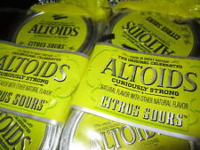 Altoids Sours (4 Sealed Tins) Curiously Strong Citrus (Discontinued, RARE)