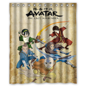 Avatar The Last Airbender Custom Shower Curtain Size 60x72 and 66x72
