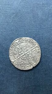 Henry vi hammered silver Groat  Calais mint ?