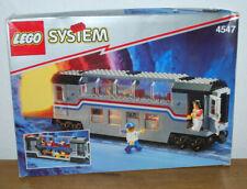 Lego System 9 Volt Eisenbahn 4547 Metroliner Panoramawagen OVP-OBA-100% komplett